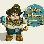 Captain Fizzy - Commissioned Logo. A fun project, and I think the type turned out especially nice.