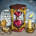 Timepieces - Digital Illustration. / Commissioned piece for Dungeon Mapper, LLC. Used by permission.